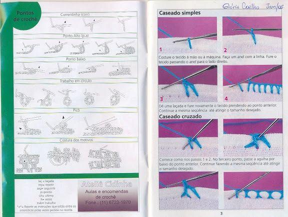 Crochê - Barradinhos de Crochê 6 - Elaine Cristini - Picasa Web Albums