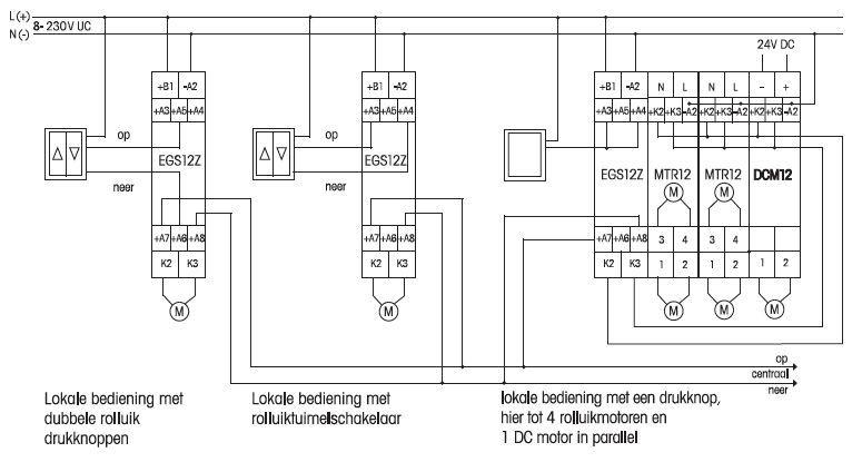 Eltako EGS12Z-8..230V UC Impuls-groepenschakelaar voor
