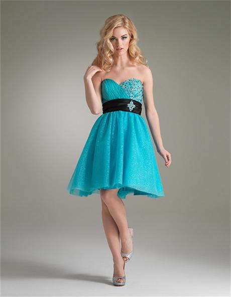 463c5ca94d Vestidos azul turquesa para graduacion - Vestidos baratos