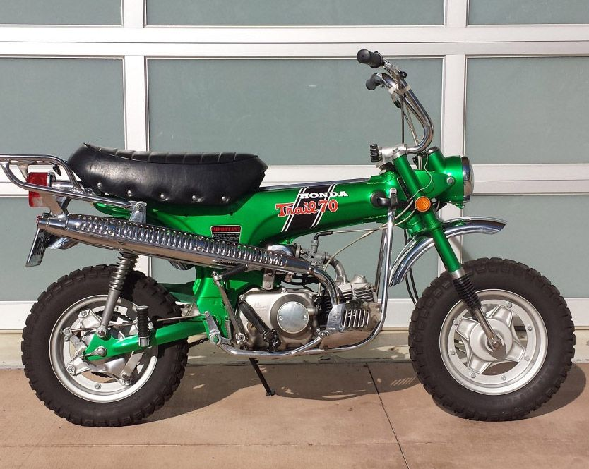 1970 Honda Mini Trail 70 H Vintage Honda Motorcycles Honda Honda Dirt Bike