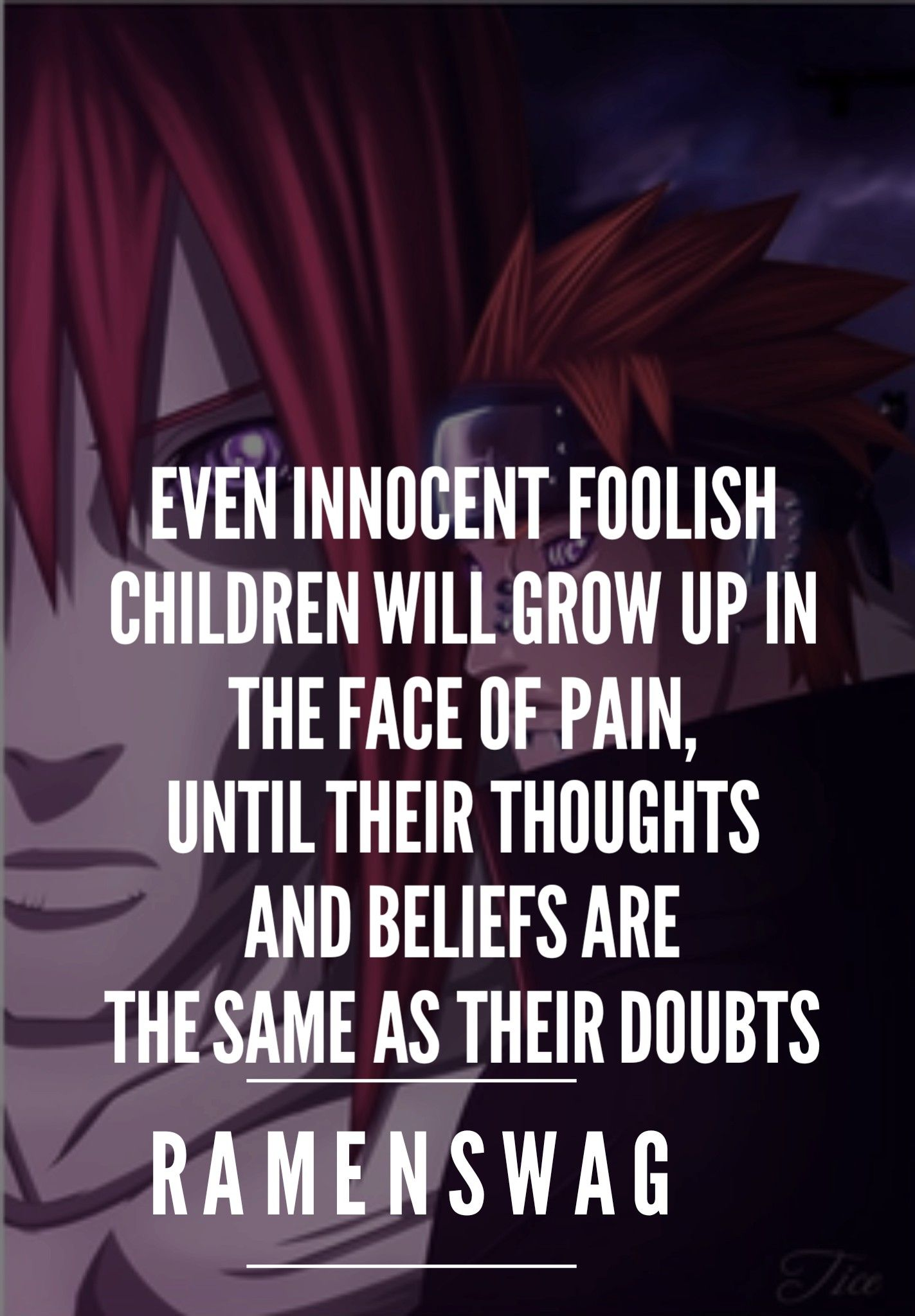 nagato quotes on hatred pain quotes from naruto pinterest pain