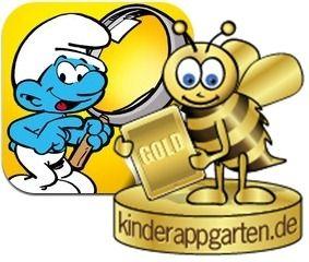 the smurfs ios app for kids ipad iphone kinder apps. Black Bedroom Furniture Sets. Home Design Ideas