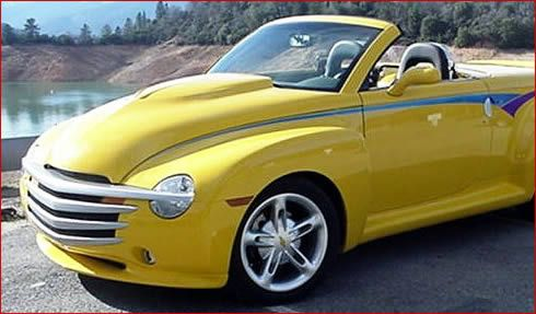 Mpd Motorsports Performance Design Chevy Ssr L88 Style Hood
