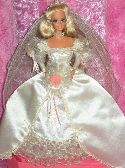 Barbies Bridal Dolls Wedding Gowns 1991 1 6 Qw