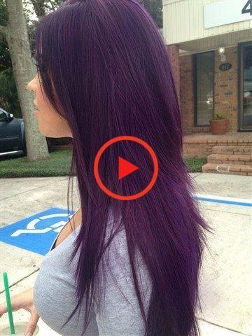 50+ Dark Purple Hair