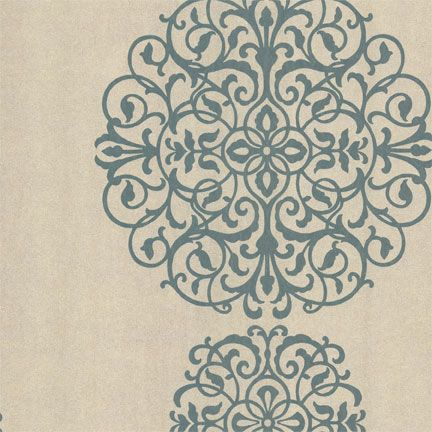Sherwin William wallpaper. MUST HAVE for hall bathroom