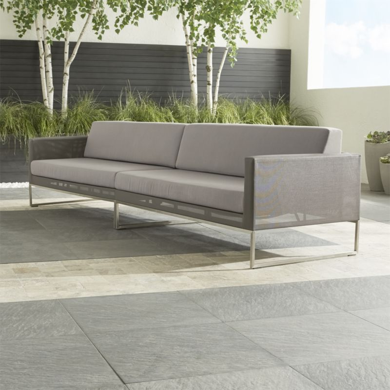 Dune 2Piece Sectional Sofa with Sunbrella Cushions Seating