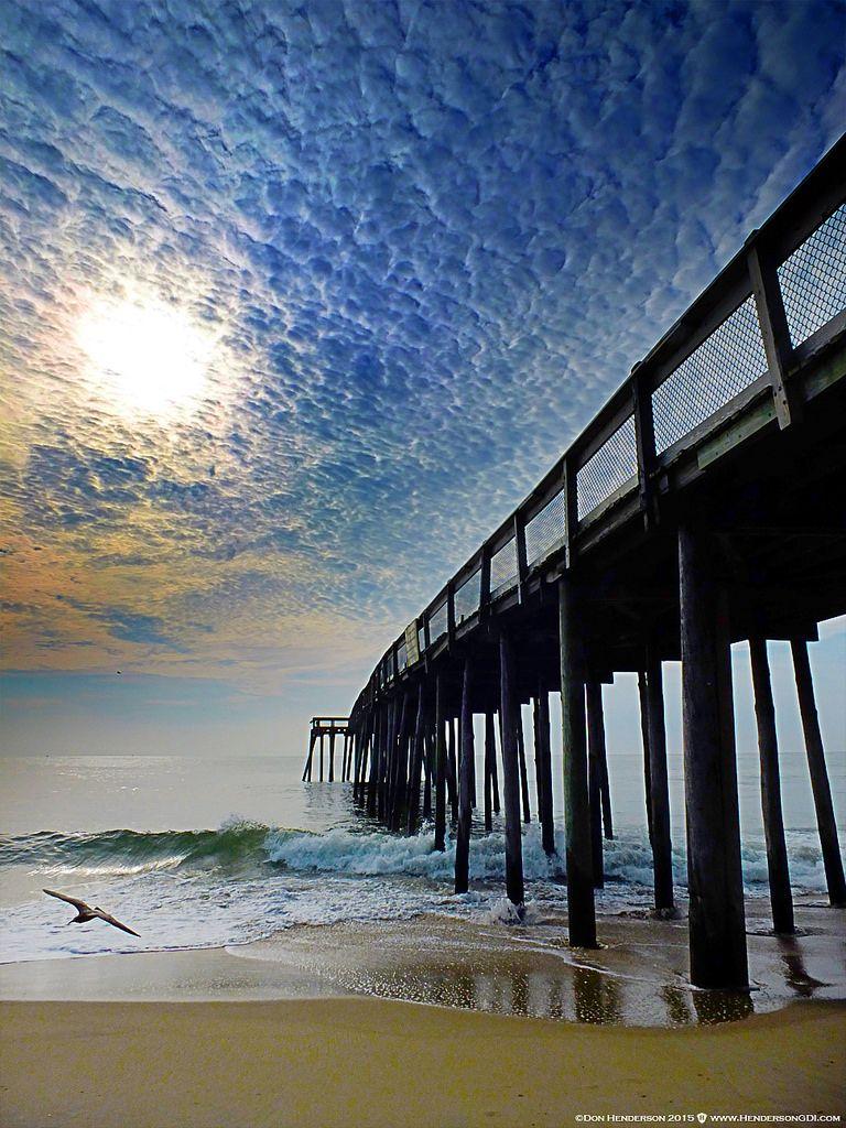 Oc Fishing Pier Ocean City Maryland Pier Fishing Ocean City Md