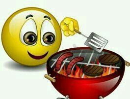 Grill Out Smiley | Emoticon faces