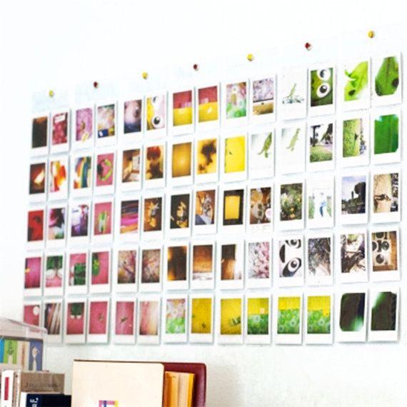 Wall Pocket Photo Album Fujifilm Instax Mini Film Holder Gettin
