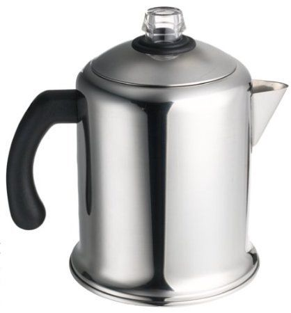 Farberware Classic Stainless Steel Yosemite Coffee Percolator Free