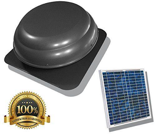 25 Watt Usa Stock Solar Powered Attic Fan Solar Venting Stainless Steel Solar Roof Fan Vent Y Solar Attic Fan Solar Powered Attic Fan Solar Panels For Home