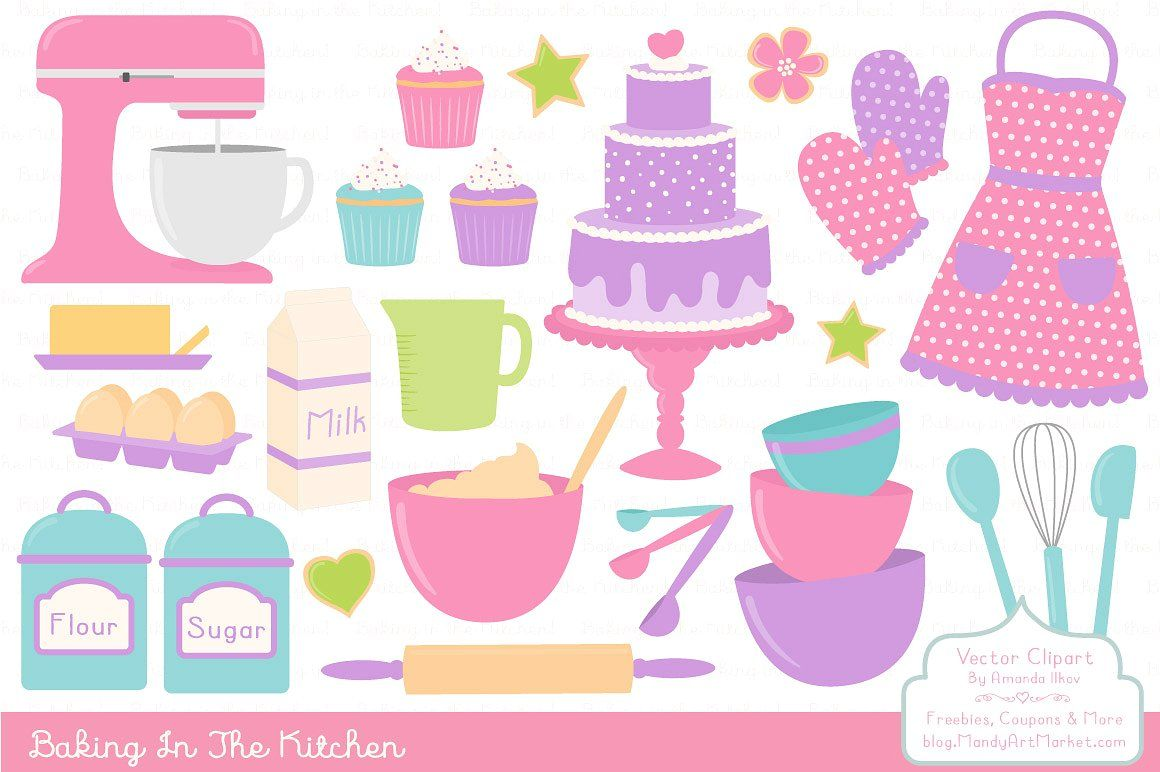 Baking woman with cupcakes stock illustration. Illustration of isolation -  49037652