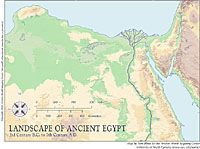 Egypt Maps | Ancient World Mapping Center | Middle School History ...