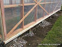 Greenhouse Covering - Greenhouse covering materials - Installing the polyethylene sheeting