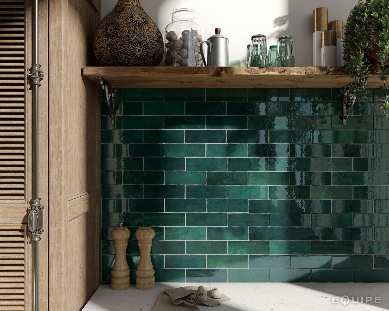 Groene Wandtegels Keuken : Groene wandtegels zijn in trek de laatste tijd bij ons kun je ze