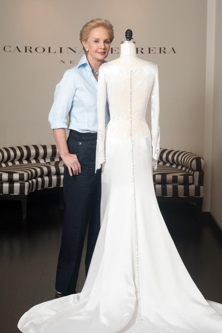 Caroline Herrera Designer Of Bellas Wedding Dress In Twilight