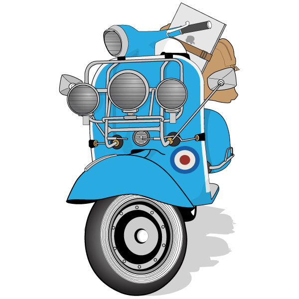 vector vespa scooter image download free vehicle vector art scooter images vespa scooters vespa vector vespa scooter image download
