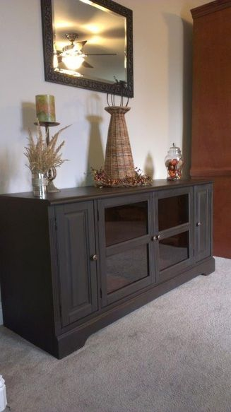 Pin By House Of Meli D On Meli D Creations Media Cabinet Media Room Paint Colors Painting Cabinets