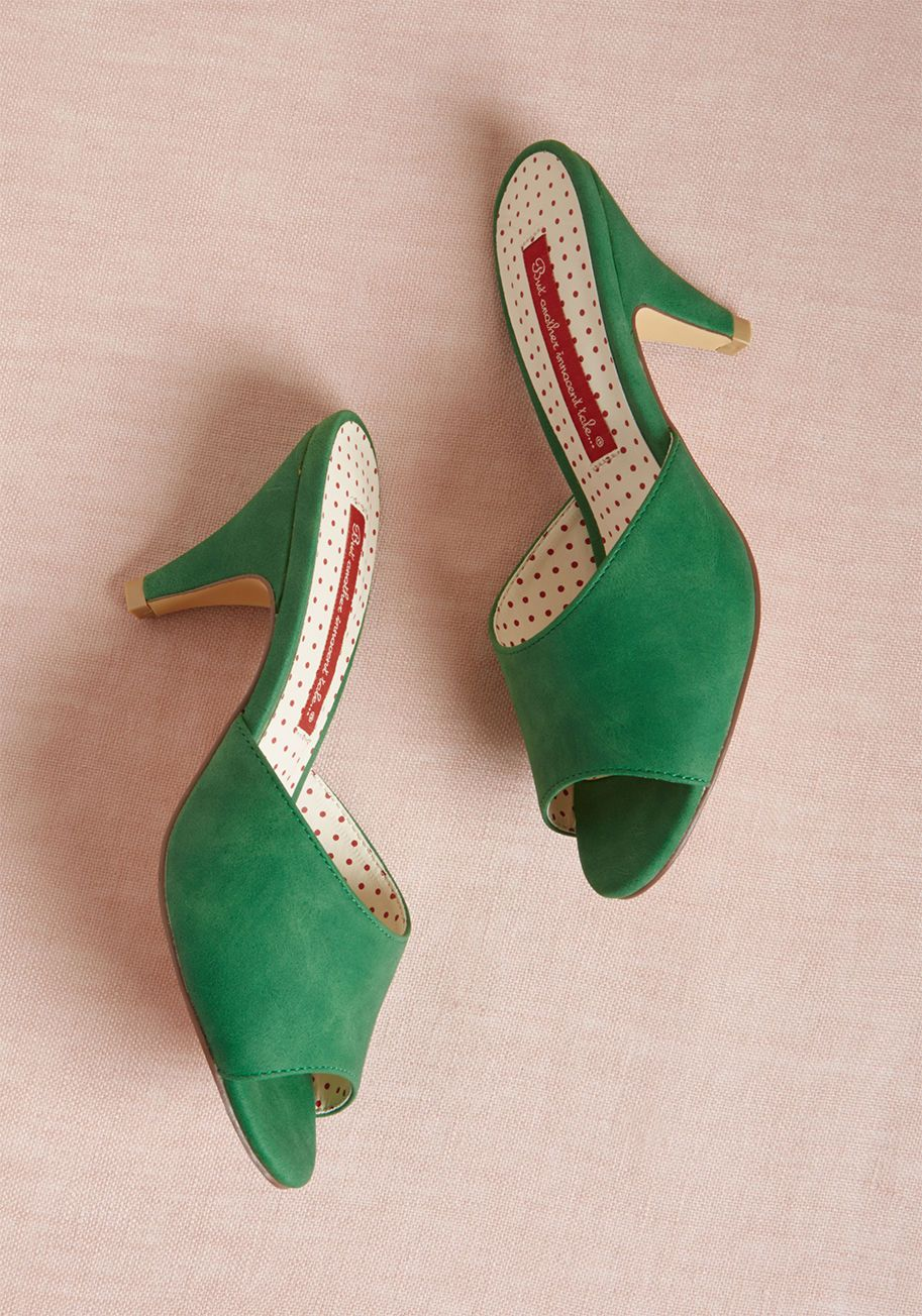 Bait footwear taking slides peep toe heel heels