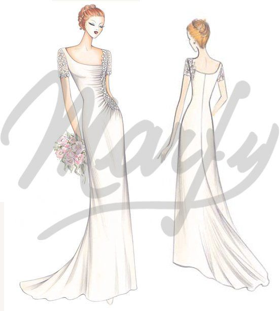 Our Patterns :: Bridal Collection 2nd Ed. :: Sewing Pattern S685 ...