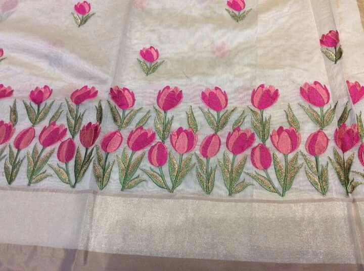 Pin by Ramani munny on sarees in 2019 | Embroidery suits ...