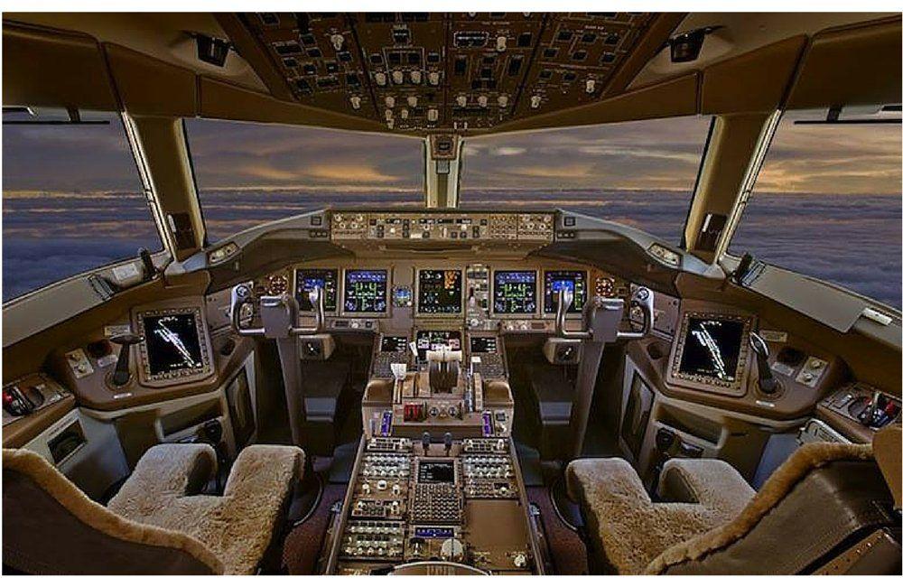 Insolite d couvrez l 39 int rieur incroyable des jets for Interieur boeing 777