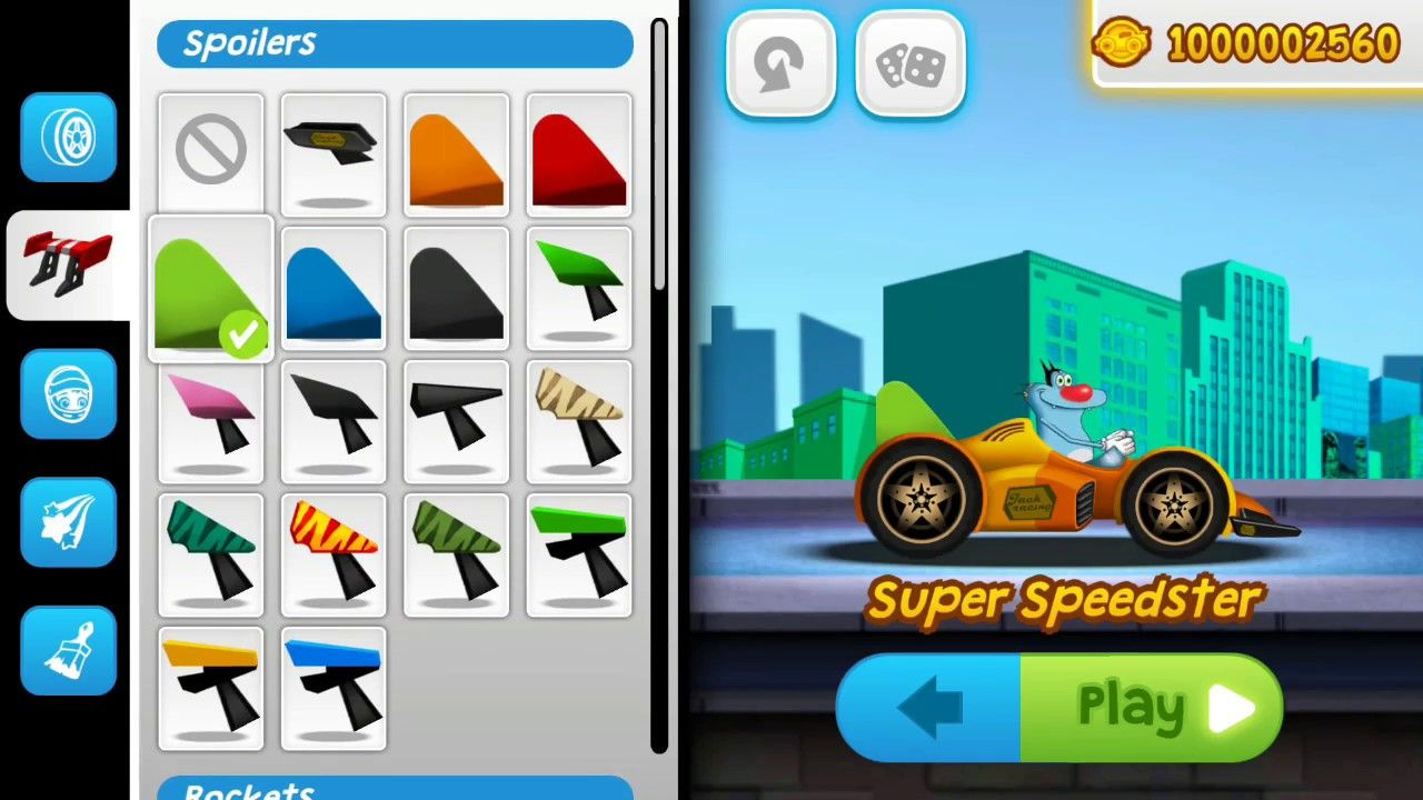 Oggy Super Speed Racing The Official Game City Town Super Speedster Android Gmae Play Hd Games Super Speed Play