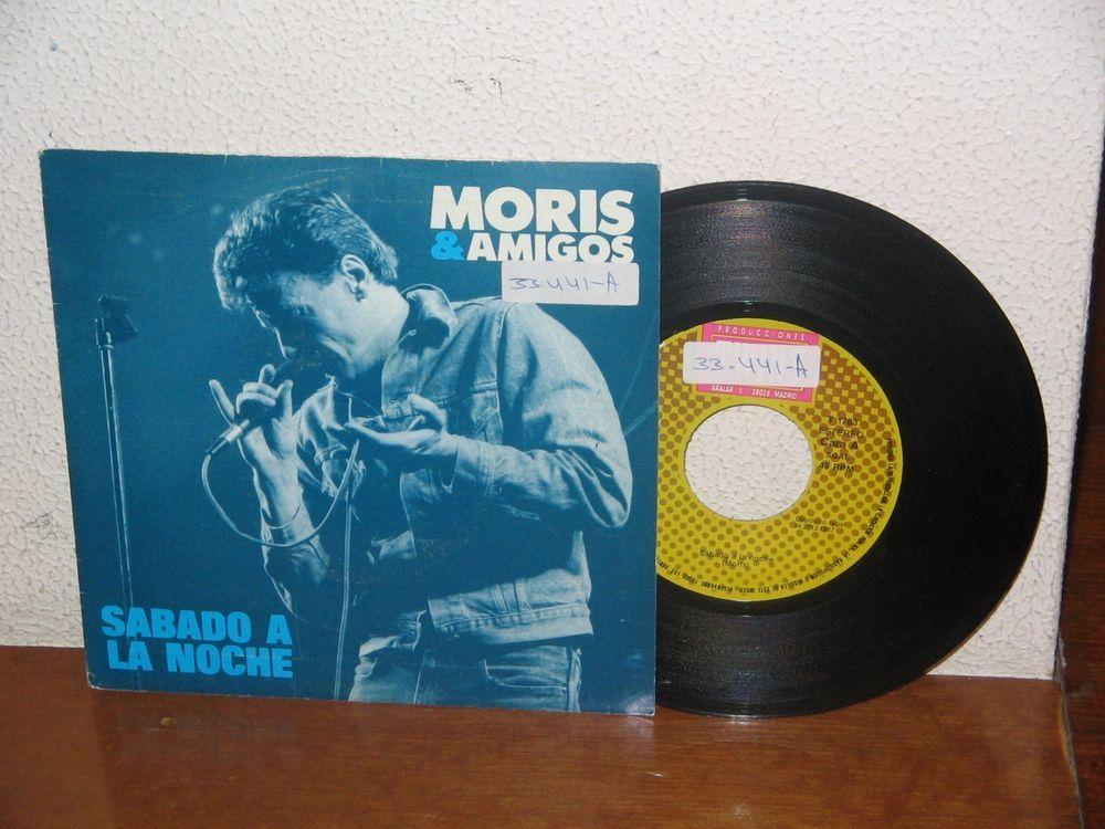 Moris   7´´ Mega Rare Vintage  Spain 1987