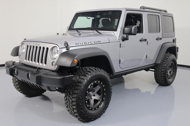 EBay: 2014 Jeep Wrangler Unlimited Rubicon Sport Utility 4 Door 2014 JEEP  WRANGLER UNLTD