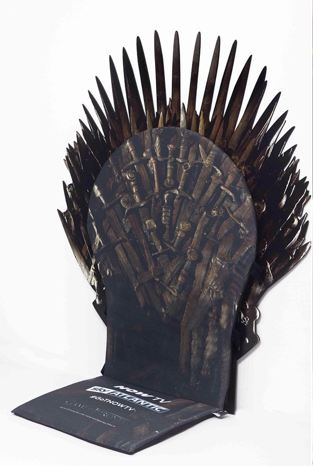 6 Witte Stoelhoezen.Throne Of Swords Seat Cover Make Every Chair The Iron Throne