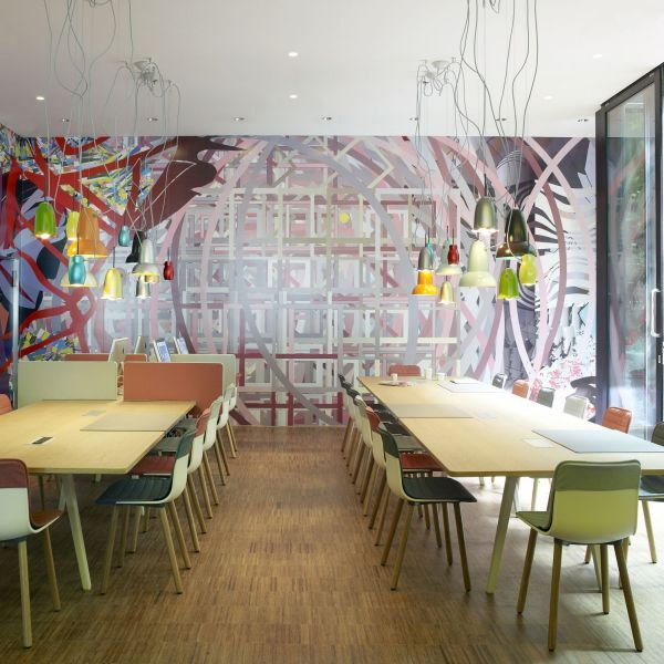 art and design in citizenM London Bankside hotel Restaurants