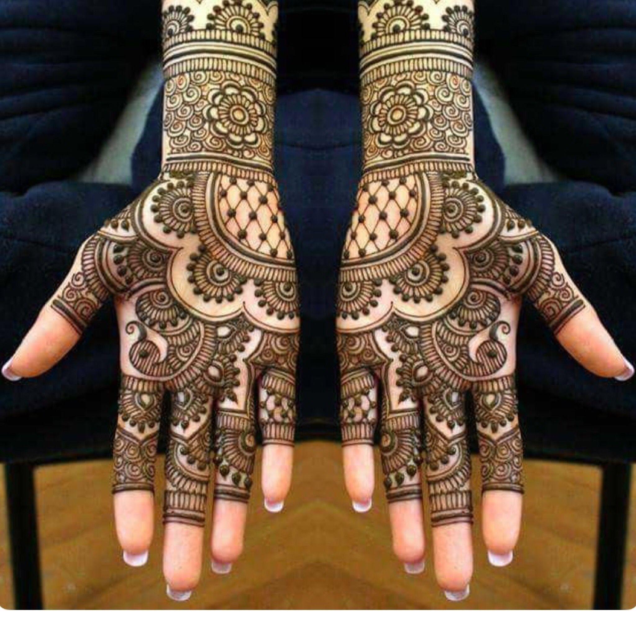 Pin by aeman fatima on mhendhi Dulhan mehndi designs