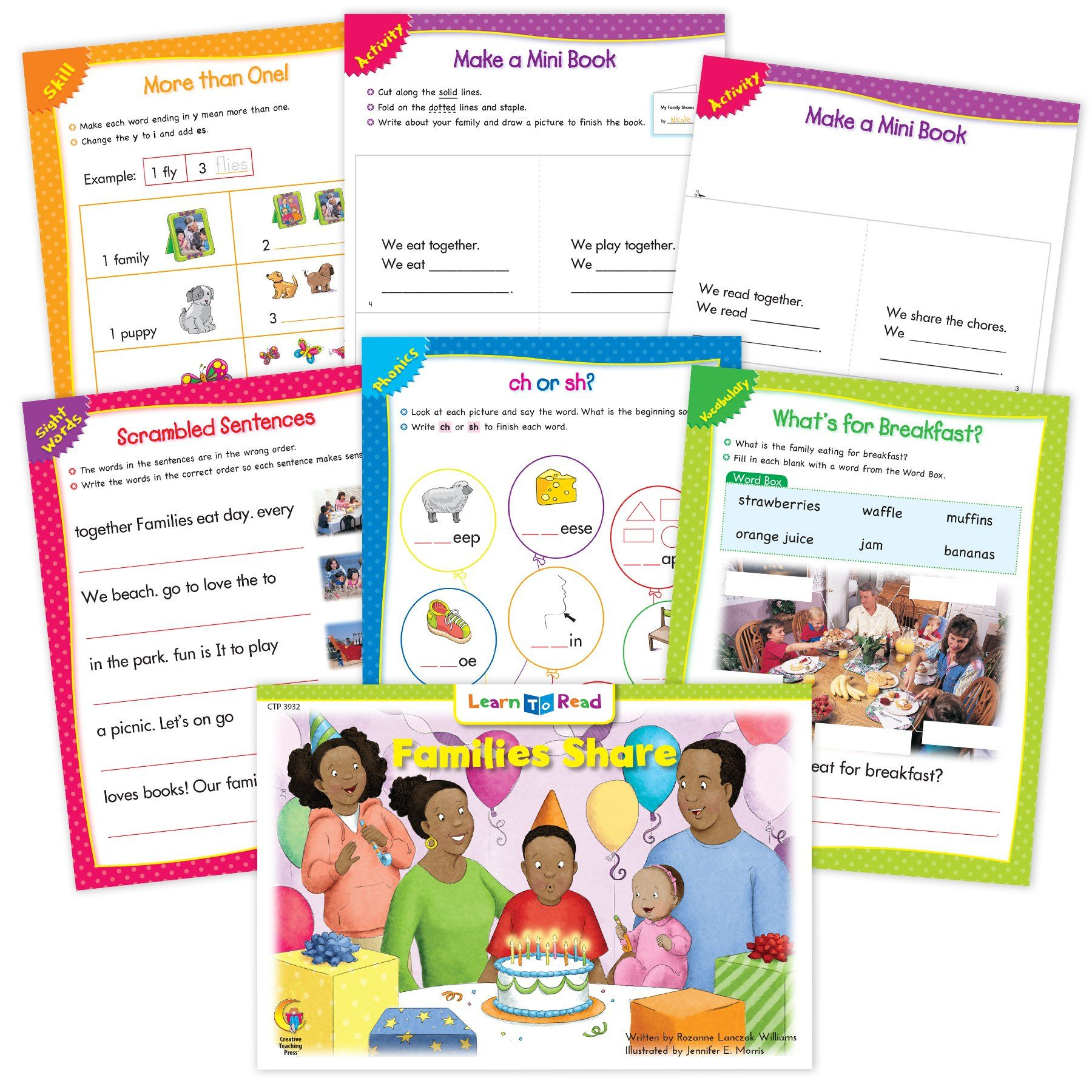 Families Share Ebook Amp Worksheets In