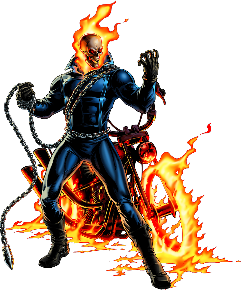 Ghost Rider By Alexelz Ghost Rider Ghost Rider Marvel Ghost Rider Pictures