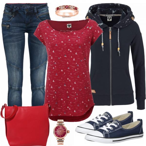 92b0732f9bf39 RedLove Damen Outfit - Komplettes Freizeit Outfit günstig kaufen ...