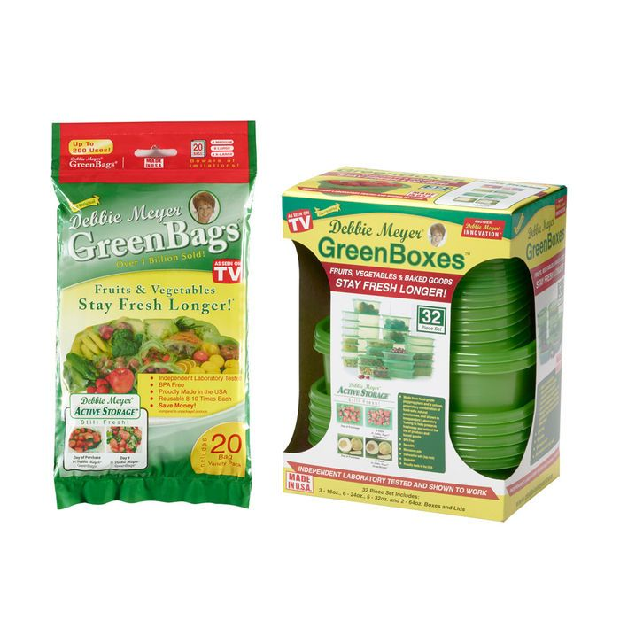 Debbie Meyer® UltraLite GreenBoxes™ And Debbie Meyer® Greenbags® 20 Bags  sc 1 st  Pinterest : debbie meyer green boxes food storage - Aboutintivar.Com