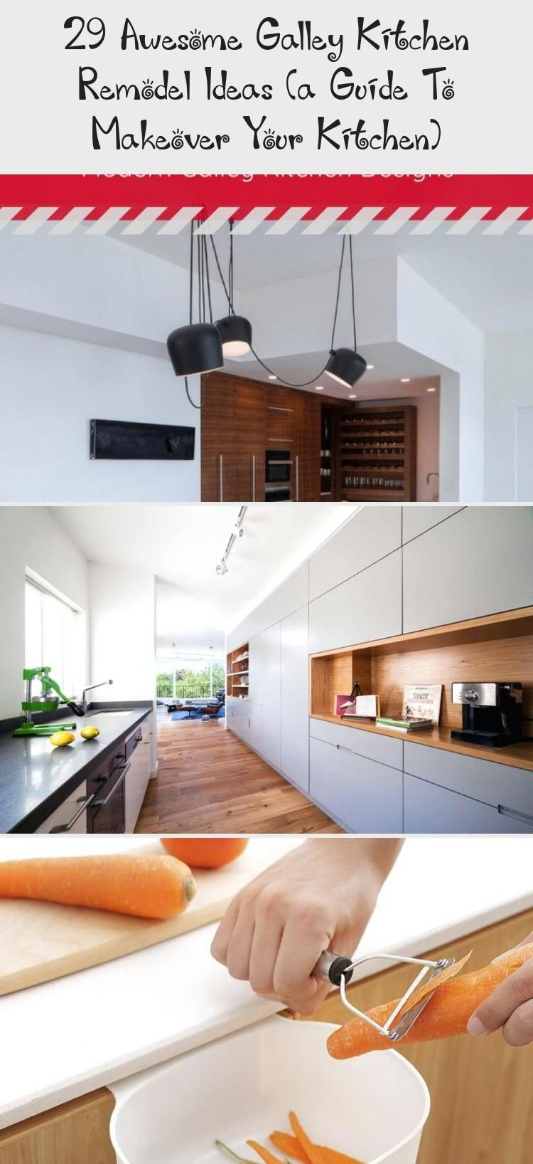 29 Awesome Galley Kitchen Remodel Ideas (A Guide to Makeover Your Kitchen) #onabudget #small #beforeandafter #fixerupper #ideas #narrow #layout #joannagaines #open #island #kitchendesignInspiration #Tinykitchendesign #kitchendesignWood #kitchendesignStorage #kitchendesign2019 #opengalleykitchen