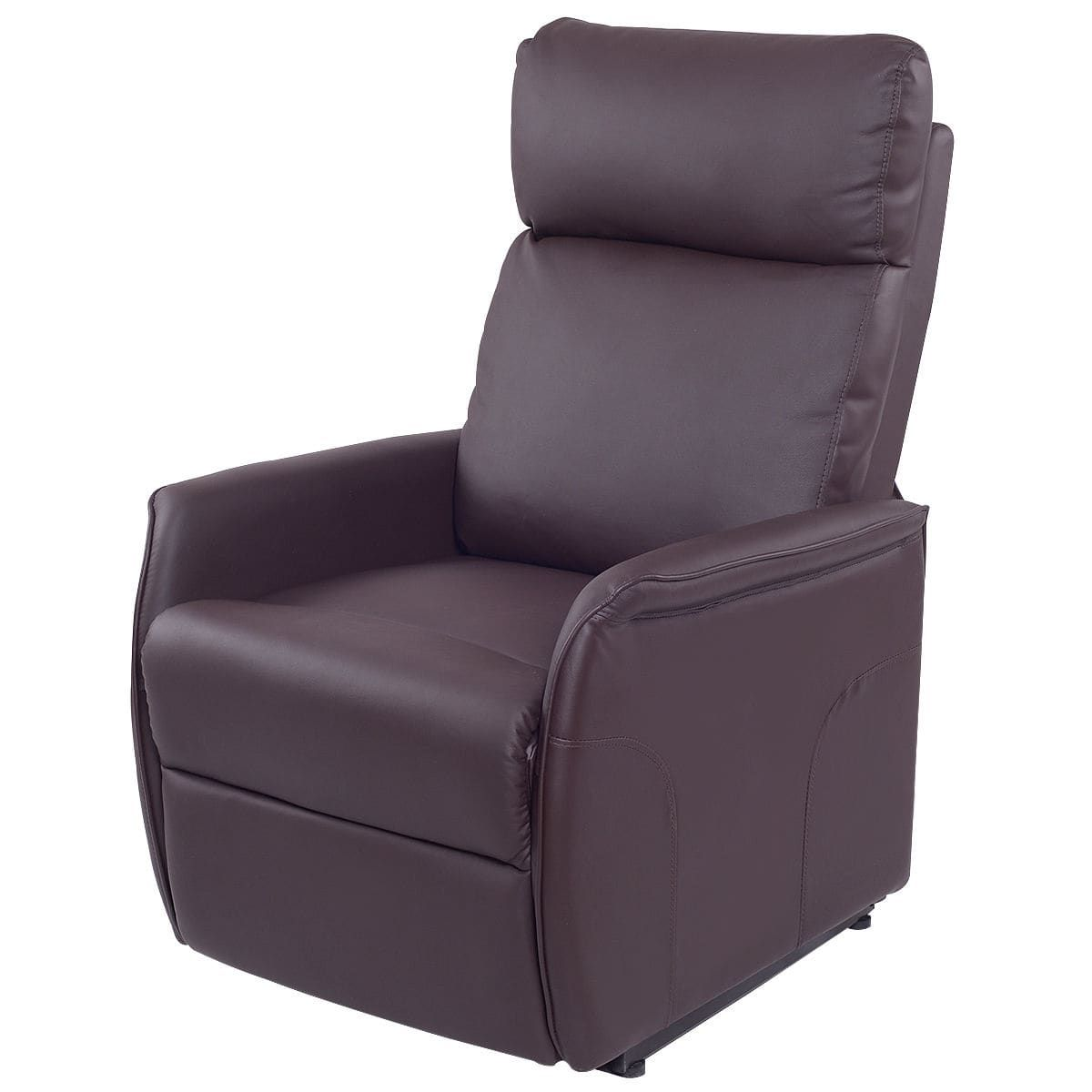 Costway pu electric lift chair power recliner reclining sofa lounge