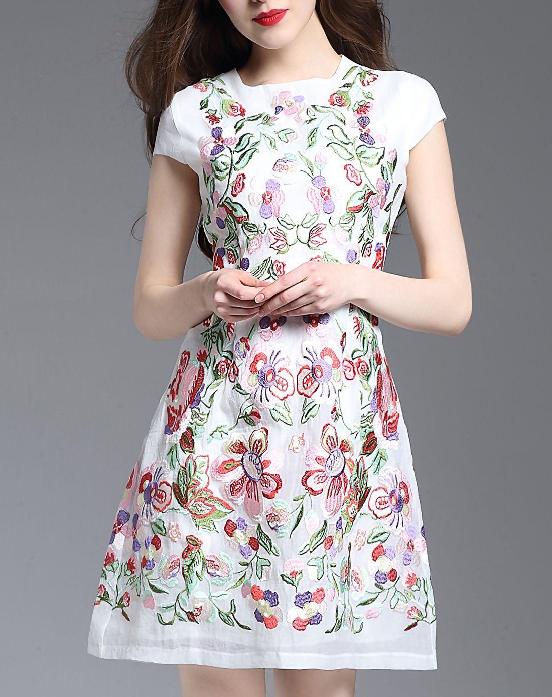 Adorewe vipme sheath dressesdesigner yujia white seersucker cap