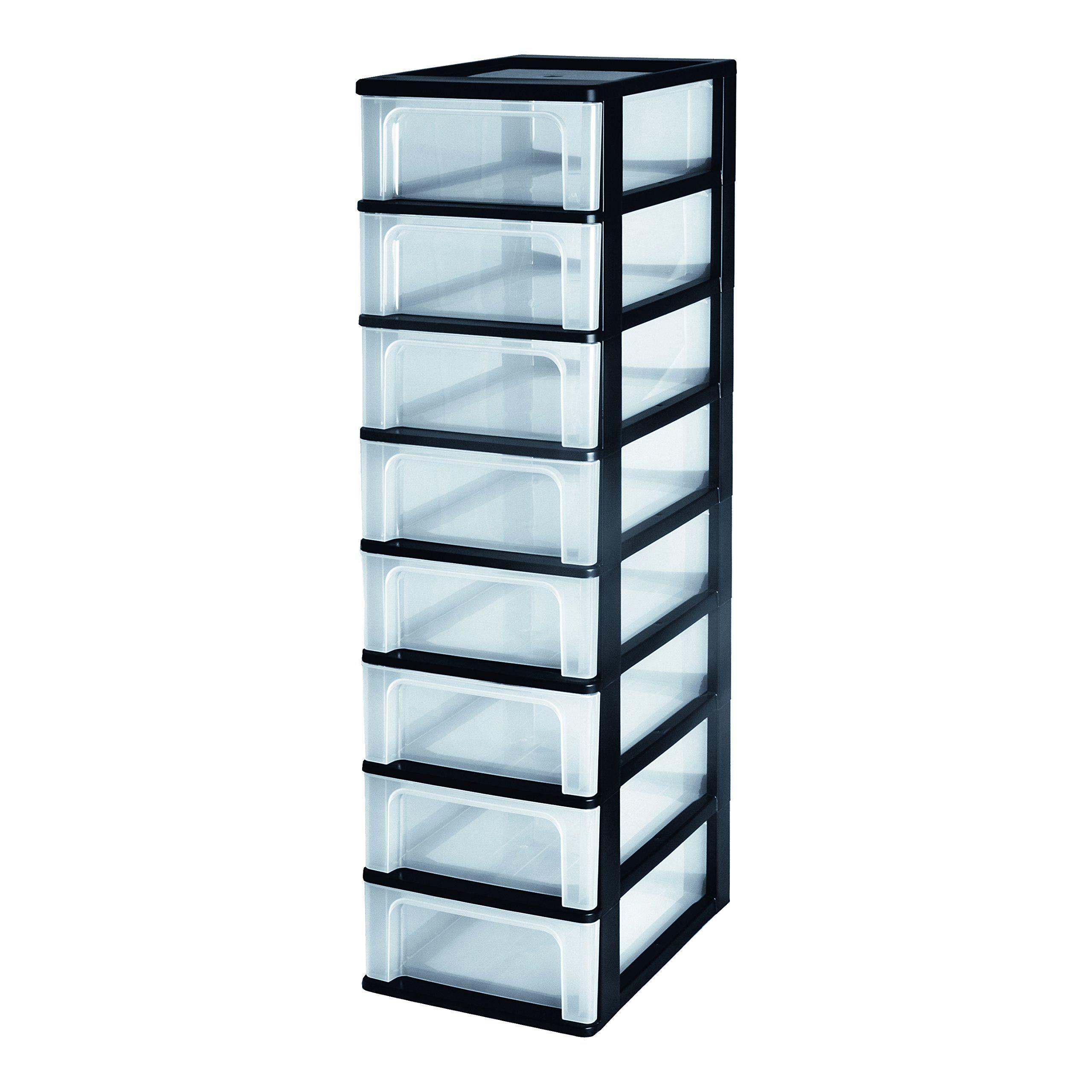 Iris Organizer Chest Och 2008 Schubladencontainer Schrank Kunststoff Schwarz Transparent 35 5 X 26 X 96 5 Cm Amazon De Kuche In 2020 Kunststoff Kasten Schrank