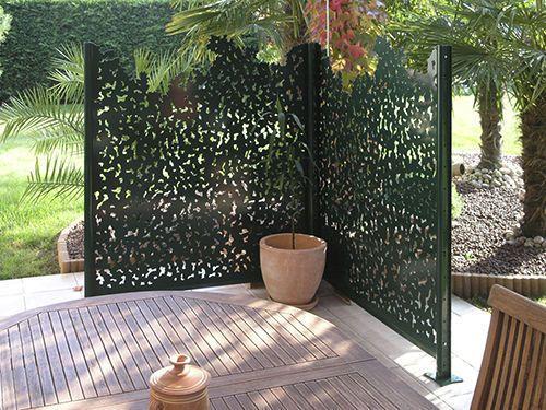 Brise Vue Panneau En Aluminium Gamme Nature Groupe Gmh Panneau Decoratif Jardin Decoration Jardin Exterieur Ecrans Exterieurs