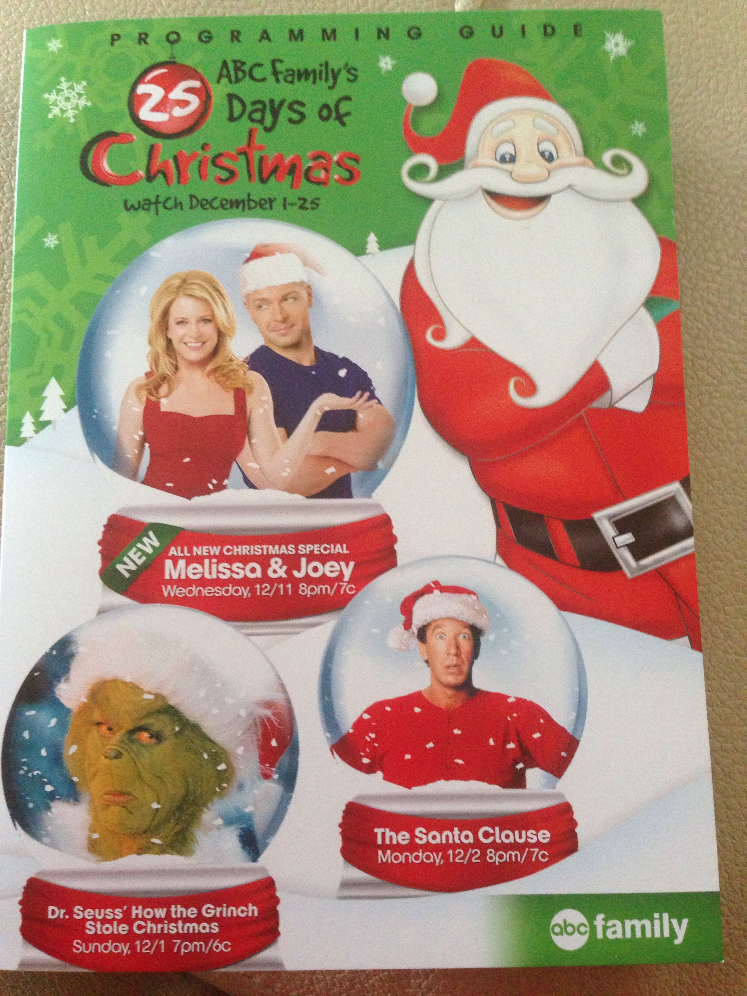 Abc Family 25 Days Of Christmas.Abc Family 25 Days Of Christmas Watch December 1 25 I Love