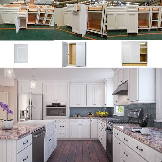 Solid Wood Kitchen Cabinets Kitchens American Standard