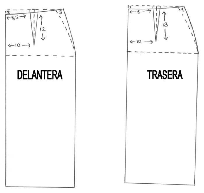 ab151b963 Basico falda | faldas | Coser falda, Patrones de costura y Faldas rectas