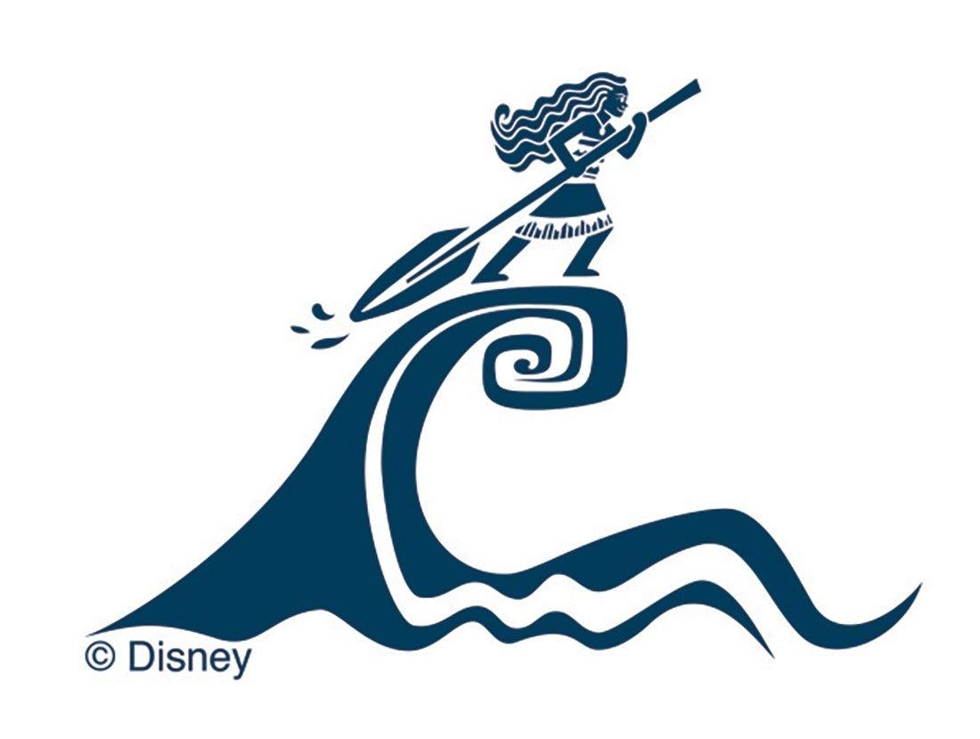 Slider image 2 disney for Maui tattoo stencil