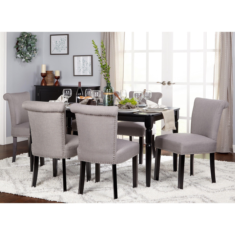 simple living furniture. Simple Living Adeline Dining Set (7-Piece Set), Grey, Size Furniture I