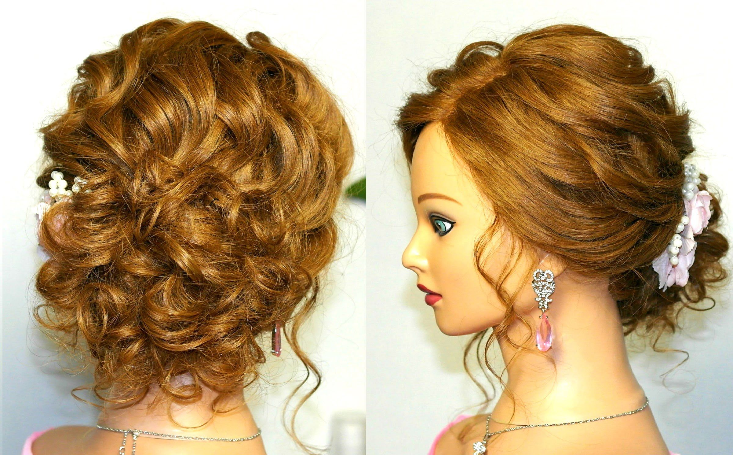 Prom wedding hairstyles updos for long medium hair Свадебная