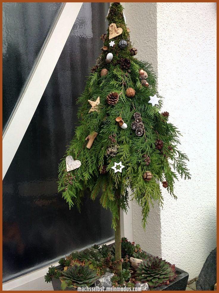 Spektakulär Winterdekorationsbaum zum Besten von die Äußeres