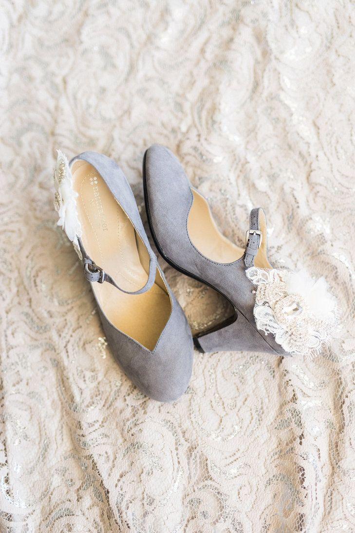 Lavender Wedding Shoes With Lace Detail Bri Cibene Photography Https Www Theknot Marketplace Jacksonville Fl 645626